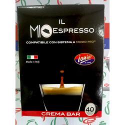 40 capsules Mio Espresso coffee Ionia, Lavazza in my own way