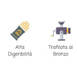 Vendita online Spaghetti Pasta di Semola Grano Siciliano Orizzonte Pastificio Lenato Alta Digeribilità e Trafilato al bronzo