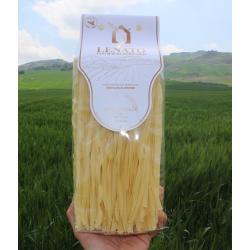 500g Fettuccine di Semola trafilata al bronzo Pasta Lenato grano siciliano