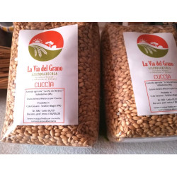 "Sicilian wheat to make the famous Majorca ""Cuccia"" variety"