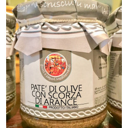 copy of Olive paté with Orange peel in a 180g jar