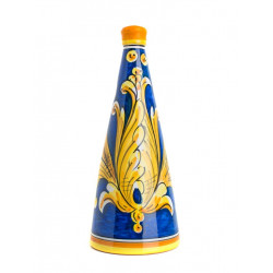 Horizon Nero d'Avola Bottle of 75cl - Caltagirone ceramics