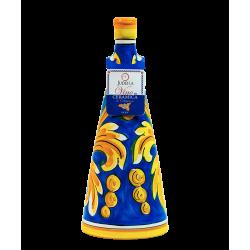 Bottiglia 75cl Nero d'Avola Ceramica di Caltagirone Orizzonte Judeka