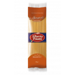"500g (17.63oz) Italian pasta whole wheat ""Spaghetti"" Alberto..."