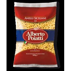 Vendita online Pasta di Semola di grano duro, Anelletti Siciliani confezione Pasta Alberto Poiatti 1kg
