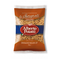 Italian pasta whole wheat Ditalini package of 500g