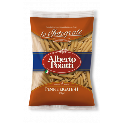 "500gr (17.63oz) Italian pasta whole wheat ""Penne Rigate""..."