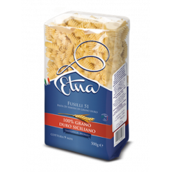Where to Sale online Italian Pasta Fusilli Etna Volcano package of 500g. Best Price