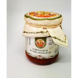 280 gr di Caponata di Melanzane Siciliana ricette tradizionale
