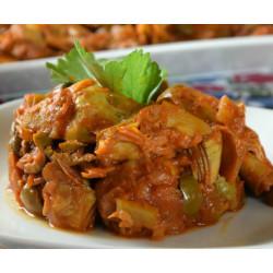 Sicilian Caponata of artichokes 180 gr on jar