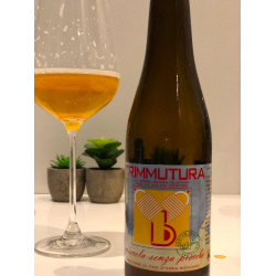 Craft beer gluten free with prickly pear Trimmutura named...