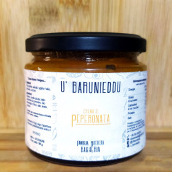 Sicilian Peperonata Cream traditional recipe 190g jar