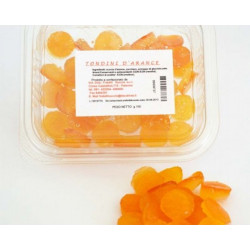 150 gr of Candies of Orange for Pantry
