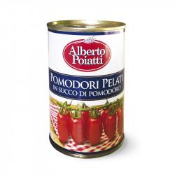 Vendita online Pomodori Siciliani Pelati in latta da 400g Alberto Poiatti