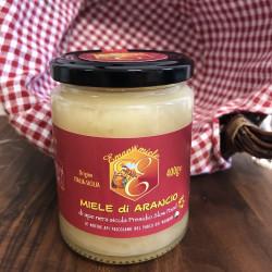Vendita online Miele Siciliano di Arancio di ape nera presidio Slow Food