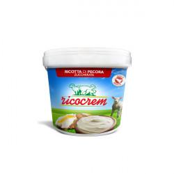 1 kg Crema di Ricotta per Cannoli Siciliani pronta per l'uso