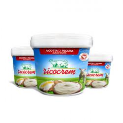 3,5 kg Ricotta Cream for Sicilian Cannoli ready for use