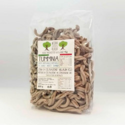 "500g (17.63 oz) Durum Whole Wheat Timilia Flour Pasta ""Casarecce"""