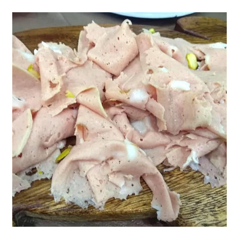 Mortadella of Black Pig from Nebrodi Montain Ham 200g in pack