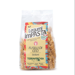 "ORGANIC  Pasta  of CHICKPEAR ""FUSILLI"" 250g"