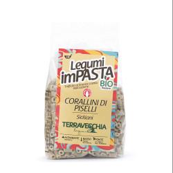 Pasta format Organic Corallini of peas 250g