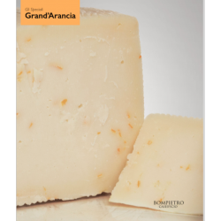 Gourmet Cheese flavored with organic orange peel