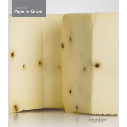 Sicilian Primo Sale Cheese with black pepper