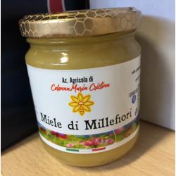 Miele Millefiori Siciliano in vasetti da 500gr