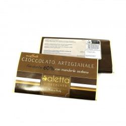 Gourmet Artisan Chocolate with Sicilian Almonds