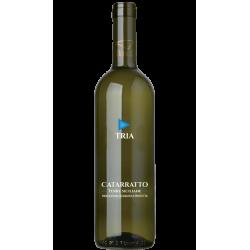 Vino Bianco Catarratto 100% Bottiglia da 75 cl linea Tria Cantine...