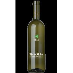 Vino Bianco Insolia 100% IGP Bottiglia da 75 cl - Linea Tria...