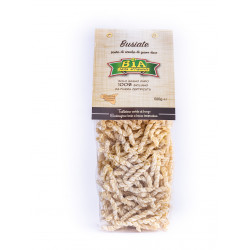 "Italian Pasta ""Busiata"" of Etna Volcano package of 500g"