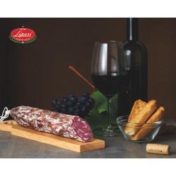 Salame al vino Nero D'Avola 250g