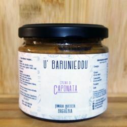 Crema di Caponata Siciliana ricetta tradizionale vasetto da 190g