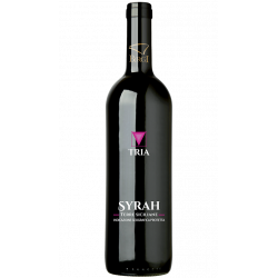 Vino Rosso Syrah IGP 100% Bottiglia da 75 cl Linea Tria...