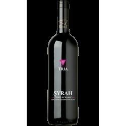 Vino Rosso Syrah IGP 100% Bottiglia da 75 cl Linea Tria Cantina Birgi