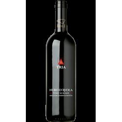 Vino Rosso Nero d'Avola DOC Bottiglia da 75 cl Linea Tria...
