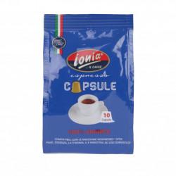 Confezione da 10 capsule Nespresso caffè Ionia