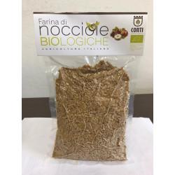 Farina di nocciole siciliane biologiche non tostate