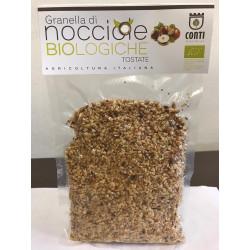 Granella di nocciole siciliane biologiche tostate 200gr