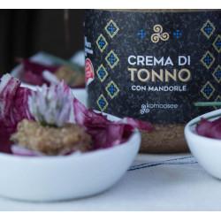 Crema di tonno con mandorle  130 gr