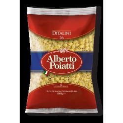Ditalini confezione da 1kg Pasta Alberto Poiatti