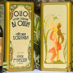 Olio Extravergine di Oliva evo Scirinda in elegante Latta Serigrafata