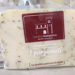 """copy of Semi-aged gourmet cheese with Time From """"Marettimo"""""""