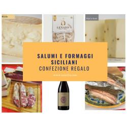 Idea Regalo Online salumi e formaggi tipici siciliani