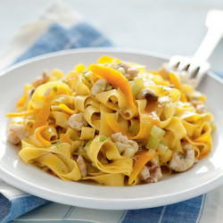 1kg Tagliatelle Semola Pasta Lenato