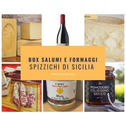 """Box  """"Spizzichi di Sicilia"""""""