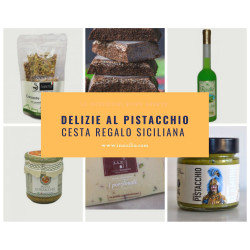 Gift Basket Sicilian Typical Products with Pistachio