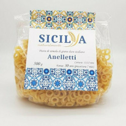 anelletti Siciliani  - Pasta di grano duro siciliano 500 gr -...