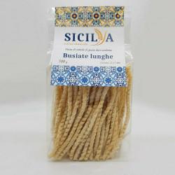 Busiate Lunghe  - Pasta di grano duro siciliano 500 gr - Sicilianaturalmente